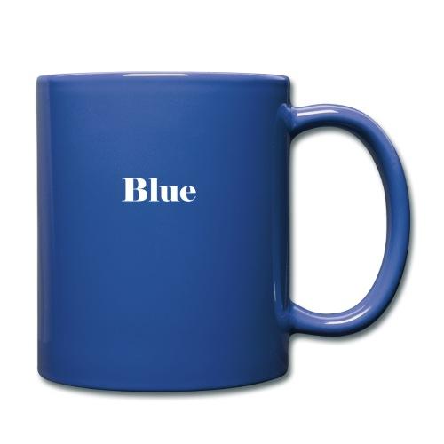Blue - Tasse einfarbig
