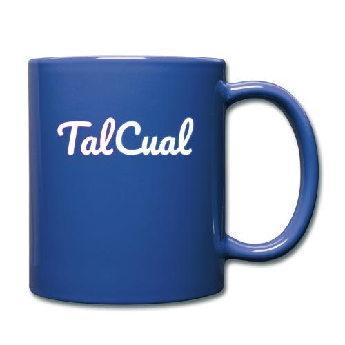 TalCual Logo Alternativo - Taza de un color
