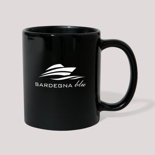 Logo weiss - Tasse einfarbig