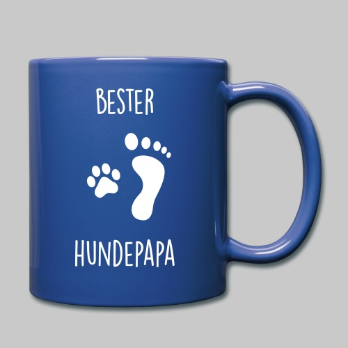 Bester Hundepapa - Tasse einfarbig