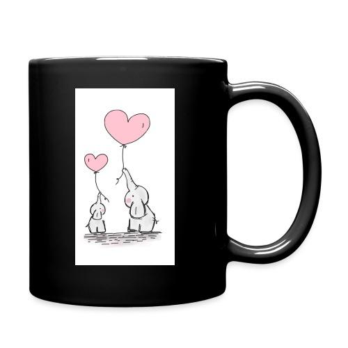 cute elephants - Full Colour Mug
