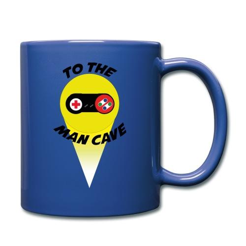 To the man cave - Full Colour Mug