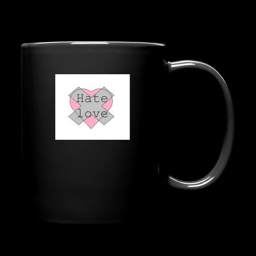 Hate love - Taza de un color