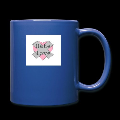 Hate love - Taza de un color