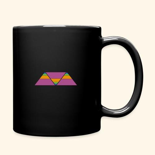 triangulos - Taza de un color