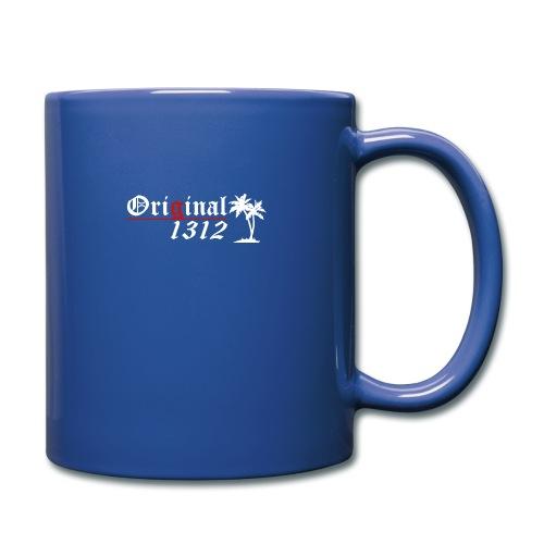 1312 T-Hemd [Druck beidseitig] - Tasse einfarbig