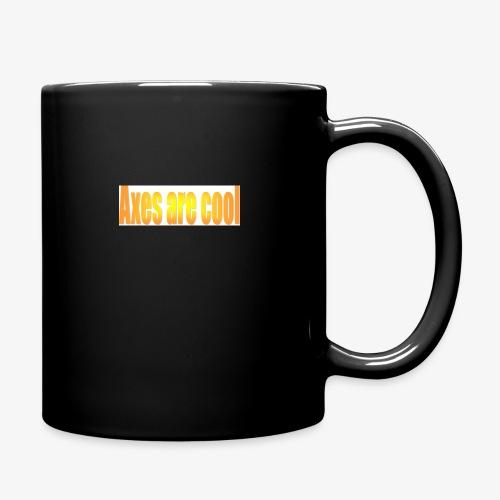 Axes are cool - Full Colour Mug