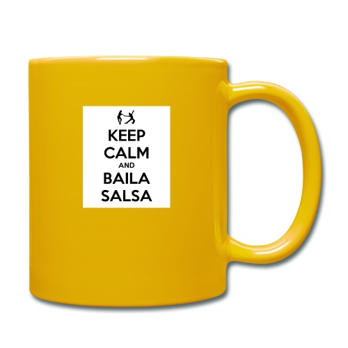 keep-calm-and-baila-salsa-41 - Tazza monocolore