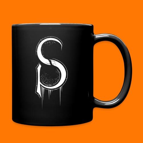 SCP-sign-WHITE transp - Full Colour Mug