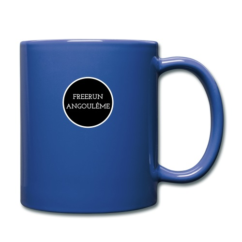 freerun noir logo - Mug uni