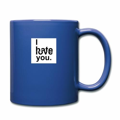 love hate - Full Colour Mug