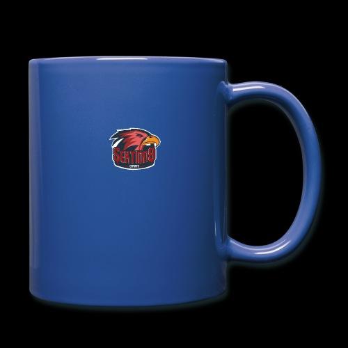Sektion9 logo Rot - Tasse einfarbig