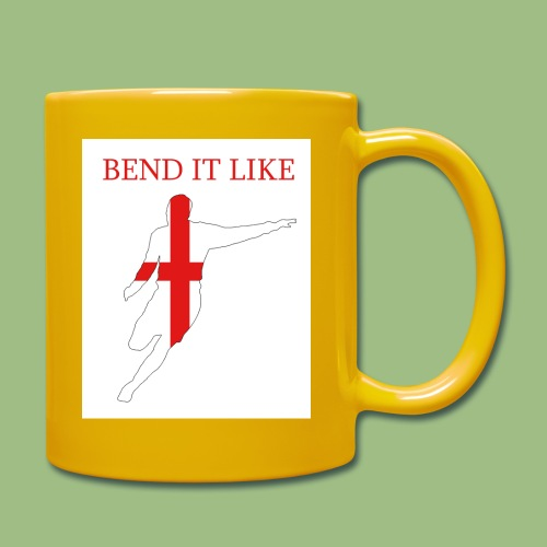 Bend It Like DavidBeckham - Enfärgad mugg