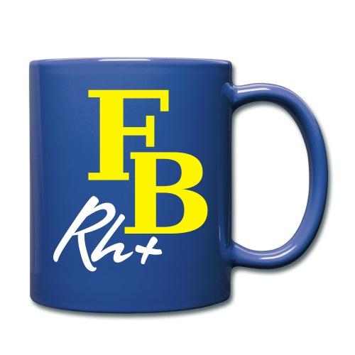 Rh+ - Tasse einfarbig