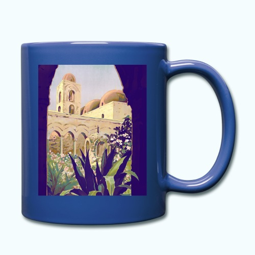 Palermo Vintage Travel Poster - Full Colour Mug
