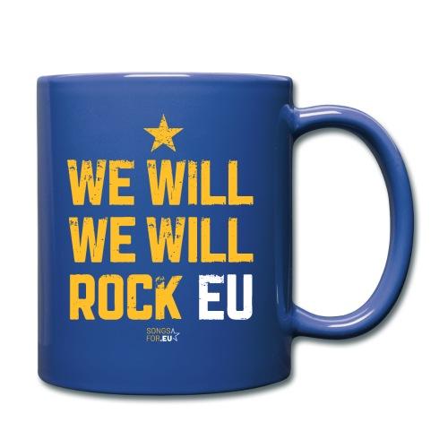 We want to rock EU | SongsFor.EU - Full Colour Mug