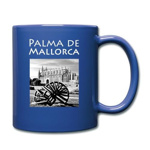 Palma de Mallorca mit Cathedrale Heiligen Maria - Tasse einfarbig