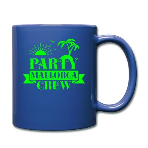 Mallorca PARTY Crew - Tasse einfarbig