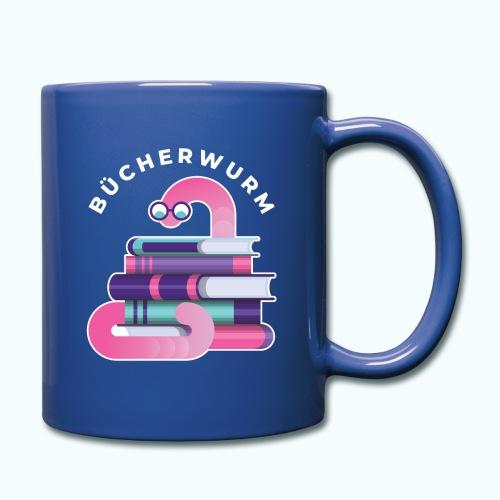 Bücherwurm - Full Colour Mug