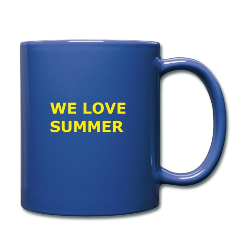 we love summer - Tasse einfarbig