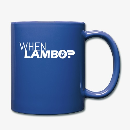 HODL-when lambo-w - Full Colour Mug