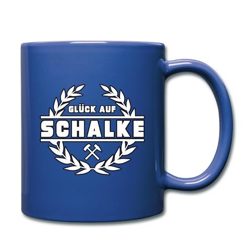 Glück Auf Schalke Gelsenkirchen - Tasse einfarbig