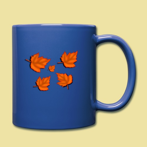 Herbstblätter - Tasse einfarbig