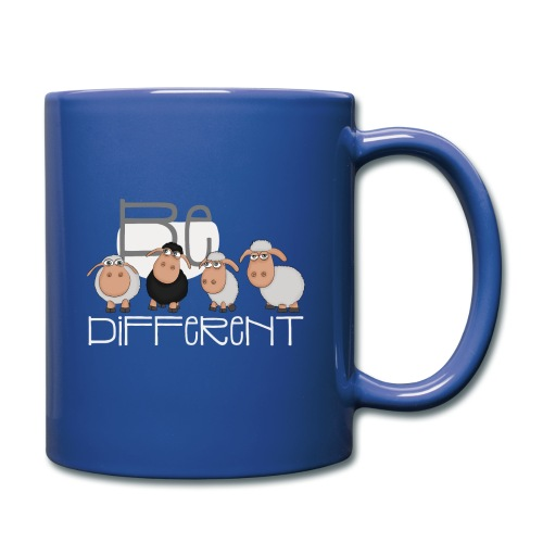Coole Be different Schafe Gang - Gute Laune Schaf - Tasse einfarbig