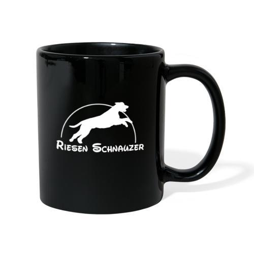 Schnauzer / Riesenschnauzer Hunde Design Geschenk - Tasse einfarbig