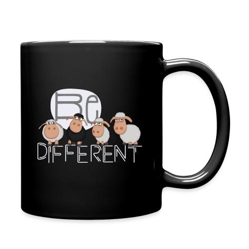 Be different Shirt: Einzigartige Schafe - Tasse einfarbig