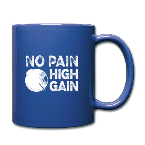 nopainhighgainwhite - Mug uni