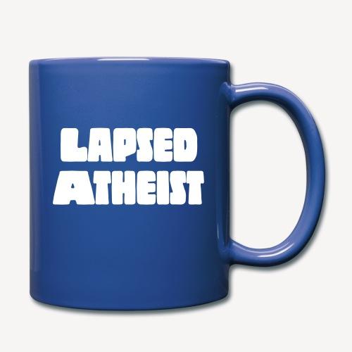 LAPSED ATHEIST - Full Colour Mug