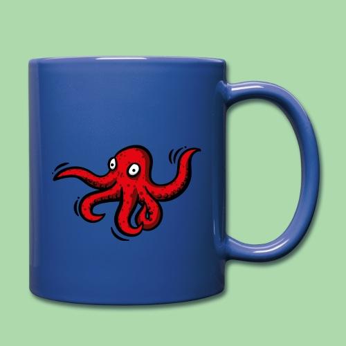 Alien Oktopus - Tasse einfarbig
