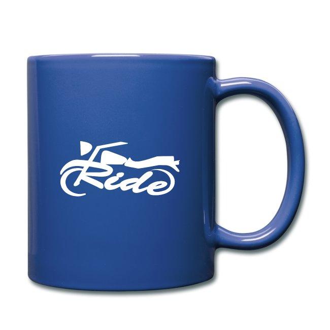 taza ride rojo