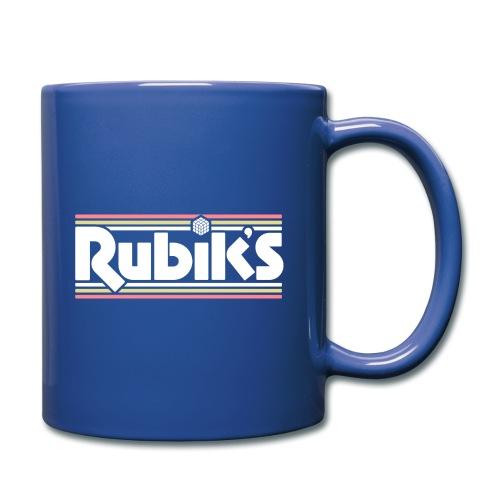 Rubik's Cube Retro Logo - Full Colour Mug