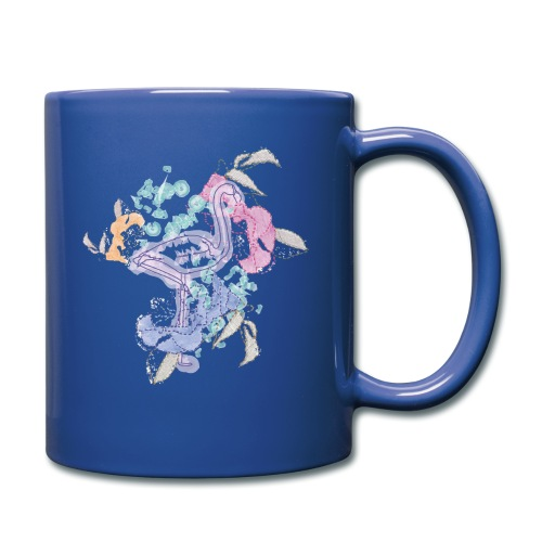 peacock - Full Colour Mug
