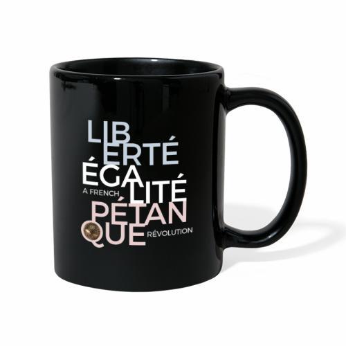 LIBERTE EGALITE PETANQUE clair - Mug uni