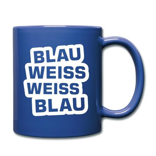 BLAU WEISS WEISS BLAU ... - Tasse einfarbig