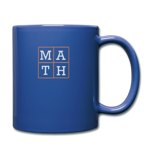 Math-Schriftzug - Tasse einfarbig