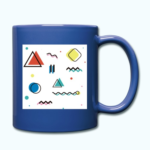 Abstract geometry - Full Colour Mug