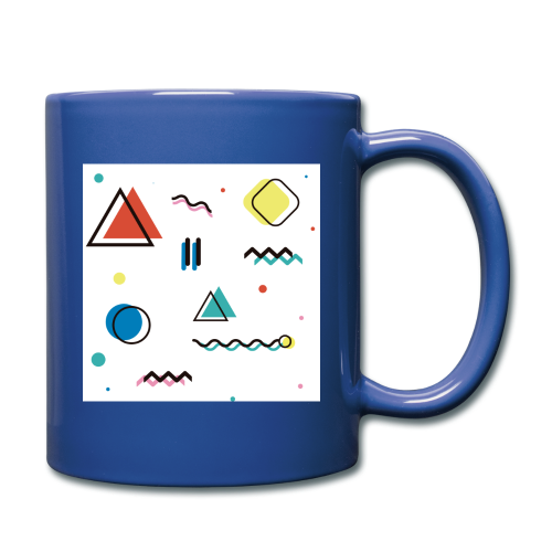 Abstract geometry - Full Colour Mug