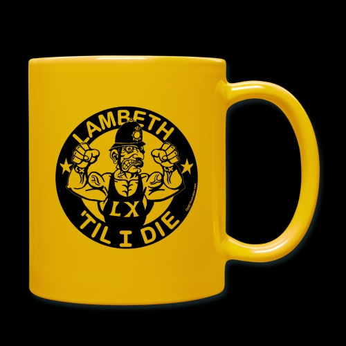 LAMBETH - BLACK - Full Colour Mug