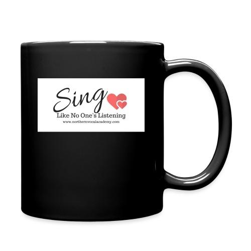 Sing Like No One's Listening - Full Colour Mug