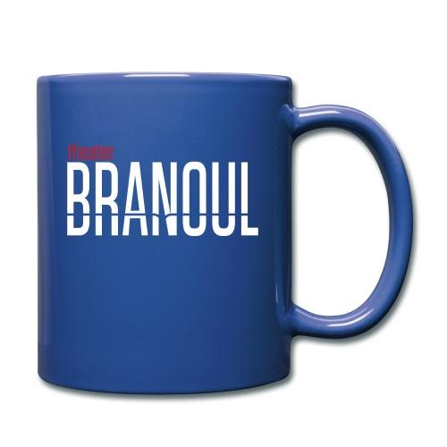 Branoul Logo rood wit - Mok uni