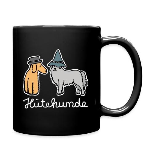 Hütehunde Hunde mit Hut Huetehund - Tasse einfarbig