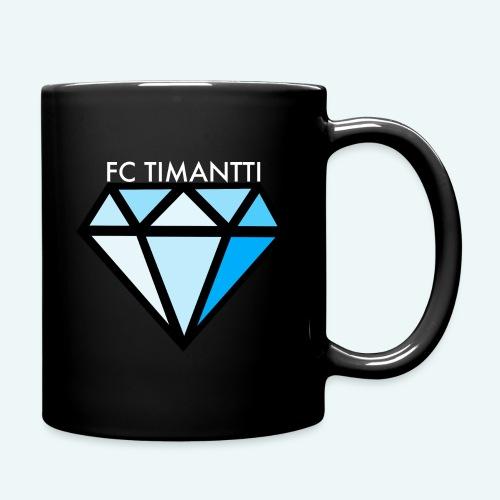 FCTimantti logo valkteksti futura - Yksivärinen muki