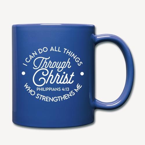 Philippians 4:13 - Full Colour Mug
