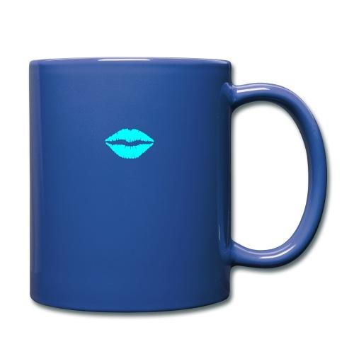 Blue kiss - Full Colour Mug