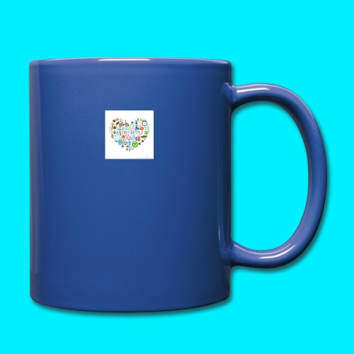 Heart image - Full Colour Mug
