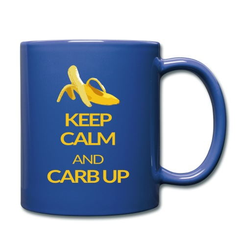 KEEP CALM and CARB UP - Tasse einfarbig